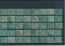 FRANCE - N°75X40 OBLITERES POUR ETUDE DES TEINTES ET DES OBLITERATIONS - 1876 - COTE MINI : 40€ - 1876-1898 Sage (Type II)