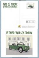 2021 FÊTE DU TIMBRE CARTE - Prêts-à-poster:Stamped On Demand & Semi-official Overprinting (1995-...)