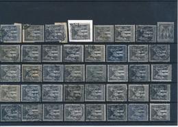 FRANCE - N°83X40 OBLITERES POUR ETUDE DES TEINTES ET DES OBLITERATIONS - 1877 - COTE MINI : 40€ - 1876-1898 Sage (Type II)