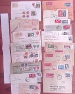 Lotto  Q -  50 Buste Storia Postale Italia - Sammlungen
