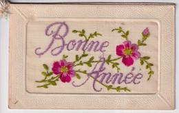 BORDUUR   BONNE ANNEE - Embroidered
