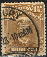BRITISH SOUTH AFRICA - 1913-19 - EFFIGIE DEL RE GEORGE V - VALORE DA 1 1/2  P - USATO - Other