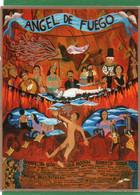 AFFICHE DE FILM .QUINZAINE DES REALISATEURS .ANGEL DE FUEGO CANNES 1992 CPM  IMPECCABLE - Posters Op Kaarten