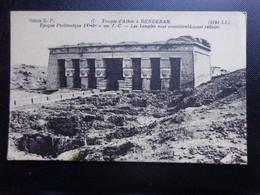 Egypt / Temple D'Athor A Denderah --> Unwritten - Qina