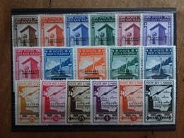 SAN MARINO 1943 - Governo Provvisorio P.O. + P.A. - Completa Nuovi ** + Spese Postali - Unused Stamps