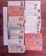 Lotto  Z -  50 Buste Storia Postale Italia - Sammlungen