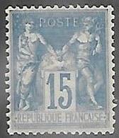 France 1878   Sc#92   15c  Sage   MNH  2016 Scott Value $27.50+++ - 1876-1898 Sage (Type II)