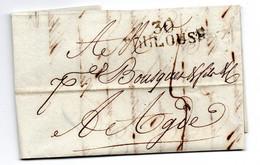 Lettre / De Toulouse / Pour Agde / 24 Février 1812 - 1801-1848: Precursori XIX