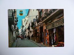 BENIDORM -  Alicante  -  Calle Tipica    -   ESPAGNE - Alicante