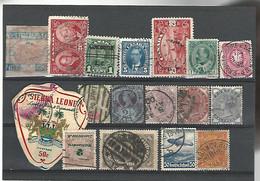 54300 ) Collection World Canada Germany Great Britain Sierra Leone Overprint - Colecciones (sin álbumes)