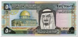SAUDI ARABIA,50 RIYALS,1983,P.24,VF+ - Saudi Arabia