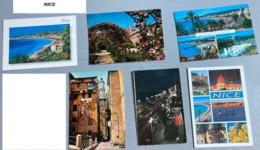 ALPES MARITIMES : 23  Cartes Postales (Nice-Juan Les Pins-Vence-Cagnes-Cannes-St Paul-Grasse-St Martin Vesubie-Auribeau- - Unclassified
