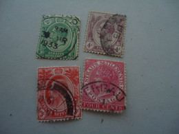 STRAITS  SETTLEMENTS   USED STAMPS QUEEN  KING - Other