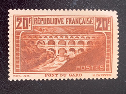 FRANCE ** N°262a, 20F Chaudron Foncé Type IIB, TB - Unused Stamps