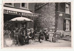 Marche-les-Dames - Restaurant Terrasse - Animé - 1937 -photo 6 X 9 Cm - Places