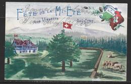 Carte P De 1902 ( Arzier / Fête De La Mi-Eté ) - VD Vaud