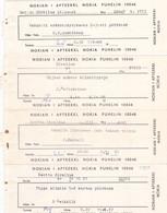 25835# LOT ORDONNANCE MEDICALE PHARMACIE FINLANDE NOKIA NOKIAN I APTEEKKI PUHELIN 10046 TELEPHONE 1958 - 1968 - Historische Documenten