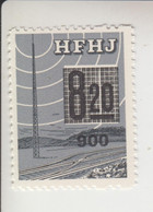 Denemarken Spoorwegzegel Lijn Hillerod Fredriksvaerk Jernbaene 154 - Local Post Stamps