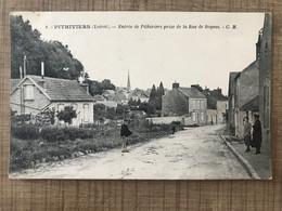 PITHIVIERS Entrée De Pithiviers Prise De La Rue De Boynes - Pithiviers