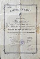 Grèce, Document Historique 1903. - Historische Documenten