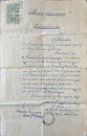 Grèce, Document Historique 1927. - Historische Documenten