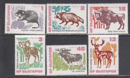 Bulgaria 1973 - Animals, Mi-Nr. 2248/53, MNH** - Ungebraucht