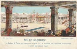 Piemonte - Torino - Esposizione Internazionale Di Torino 1911 - NELLO STADIUM ! ... - - Exhibitions