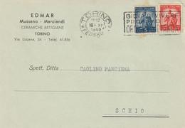 Piemonte - Torino -  EDMAR  Mussano - Marciandi - Ceramiche Artigiane - - Exhibitions