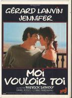 CPM, Th. Cinéma ,N°A.C.185, Moi Vouloir Toi , Réal. P. Dewolf Avec G. Lanvin - Jennifer  , Ed. Humour à La Carte - Posters Op Kaarten