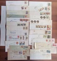 Lotto  AF -  50 Buste Storia Postale Italia - Sammlungen