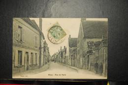 CP,  60 Oise Mouy Rue De Paris - Mouy