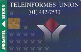 PHONE CARD PERU' (E78.22.7 - Perú
