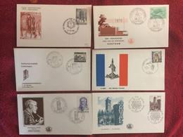 BELGIUM : 6x FDC  Year 1969-70 - 1961-70