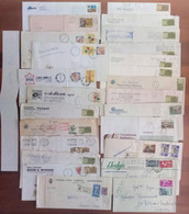 Lotto  AL -  50 Buste Storia Postale Italia - Sammlungen