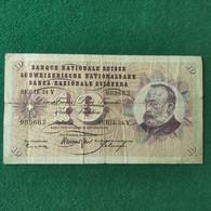 Svizzera 10 Francs 1961 - Switzerland