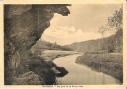 HOUFFALIZE - Au Pied De La Roche Plate - Oblitération De 1936 - Houffalize