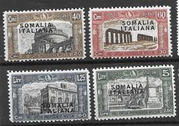 Somalia Italiana Mh * 1927 11 Euros - Somalia