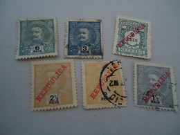 INDIA  USED  STAMPS LOT  OVERPRINT - Ohne Zuordnung