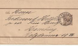 Allemagne Wurtemberg Entier Postal Bande De Journal Heilbronn 1892 - Ganzsachen