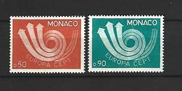 Timbre De Monaco Neuf ** N 917 / 918 - Unused Stamps