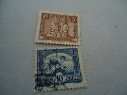 INDOCHINA  USED STAMPS   CULTURE - Ohne Zuordnung