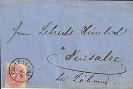 Autriche Lettre Reichenberg 1865 - Covers & Documents