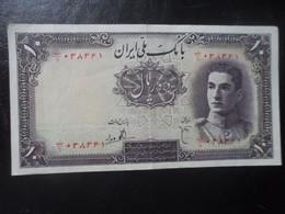IRAN 10 RIALS  (1944) - Iran