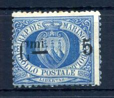 1892 SAN MARINO N.8 * FIRMATO - Unused Stamps