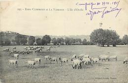 -dpts D-ref-AX226- Oise - Entre Clermont Et La Varenne - L Ile D Orelle - Campage 1914-15 ( Texte )- Guerre 1914-18 - Clermont