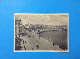 Cartolina Formato Grande Viaggiata 1939 Bari Lungomare Con Il Molo S. Nicola - Bari