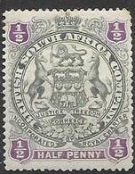 British SA Company Mh * 4 Euros 1897 - Other