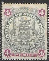 British SA Company Mh * 15 Euros 1897 - Other