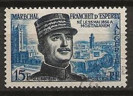 ALGERIE 1956 . N° 336 . Oblitéré . - Used Stamps