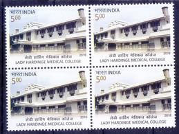 India 2016 MNH Blk, Lady Hardinge Medical College For Women - Medicina
